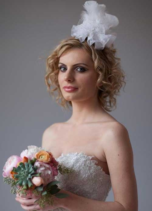 20 Super Short Bridal Hairstyles-1