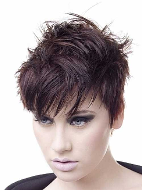 Cool 20 Best Short Messy Hairstyles Short Hairstyles 2016 2017 Short Hairstyles Gunalazisus