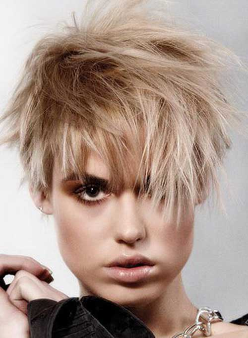 best short haircut styles 20 best hairstyles 6128 | Best Short Messy Hairstyles 6