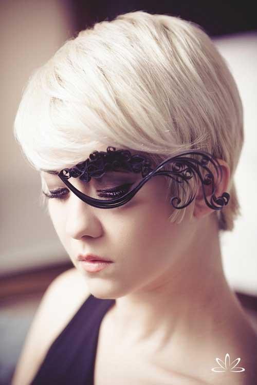 Best short blonde hairstyles