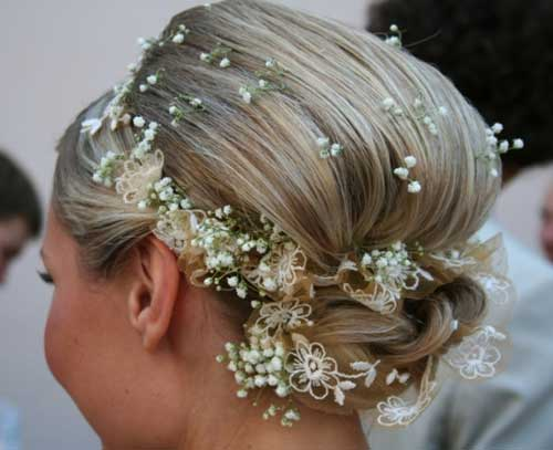 Bridal hairstyles for short hair 2013