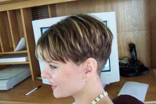 Cool short hair colors