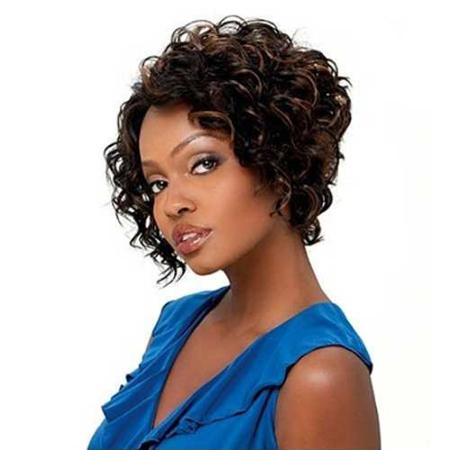 2013 Short Haircut for Black Women
