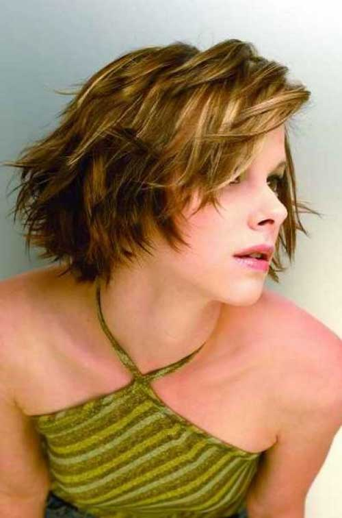 Cute hair color for short hair