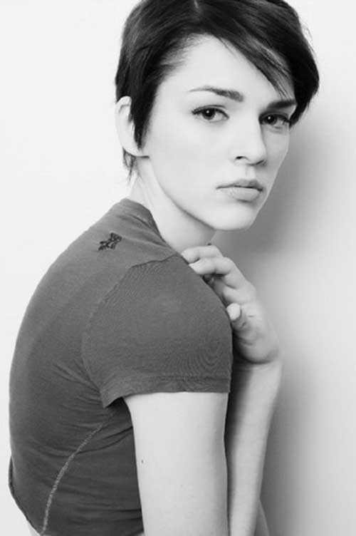 Short pixie haircuts for straight hair