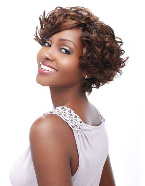 2013 Short Haircut for Black Women
