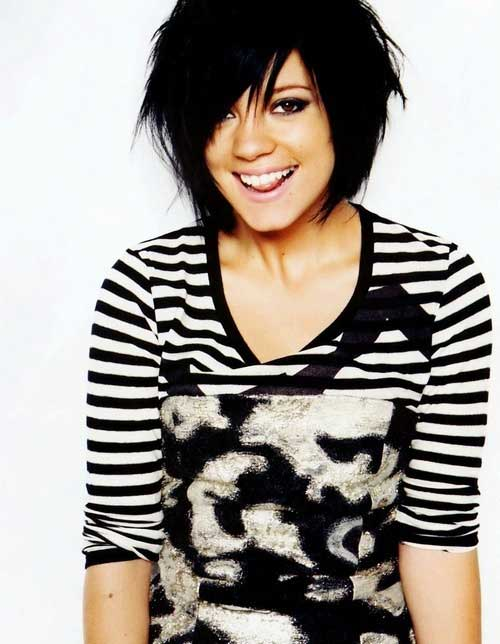 Cute short messy haircuts for women