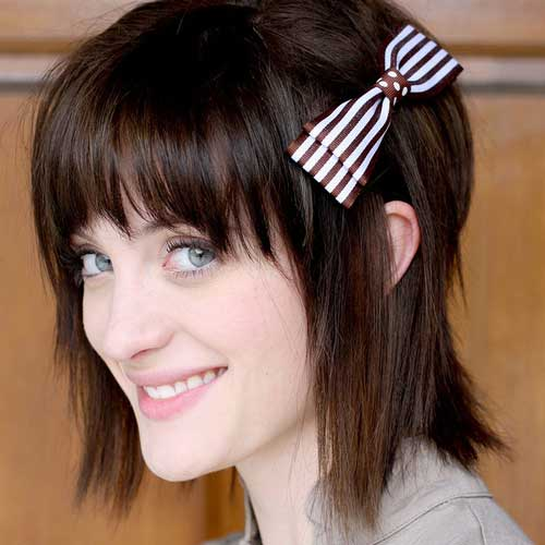 Cute short straight haircuts