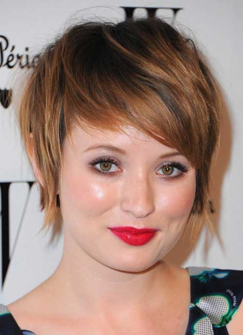 Emily Browning short hairstyle