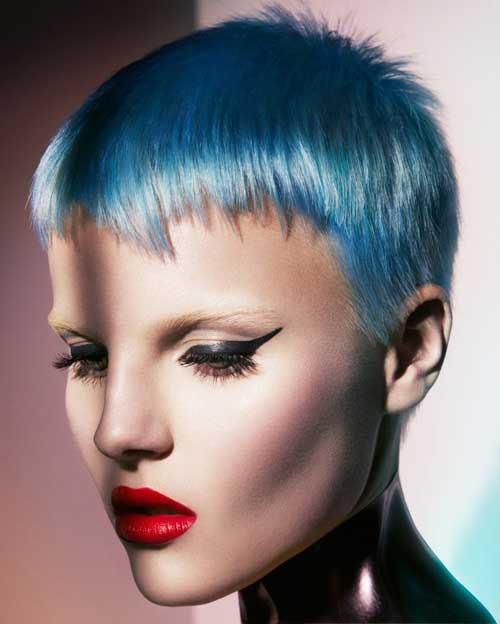 Hair Color Styles for Short Hair-2