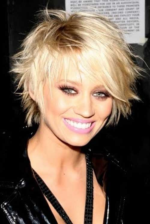 Kimberly Wyatt short haircut