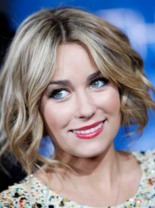 Latest short wavy hairstyles