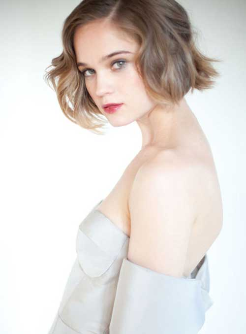 Photos of Short Wavy Hair-5