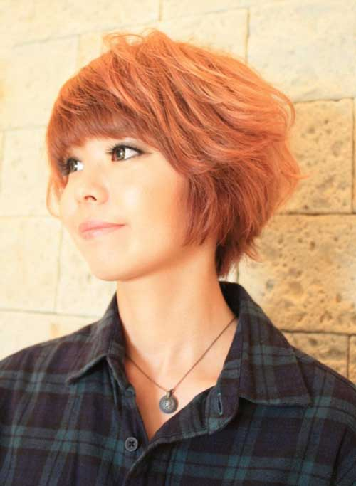 Popular Asian Short Hairstyles-10