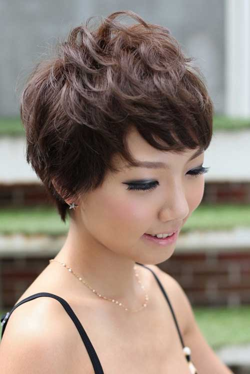 Popular Asian Short Hairstyles-4