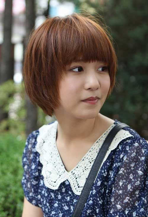 Popular Asian Short Hairstyles-7