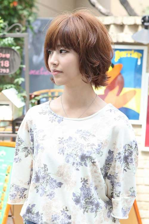 Popular Asian Short Hairstyles-9