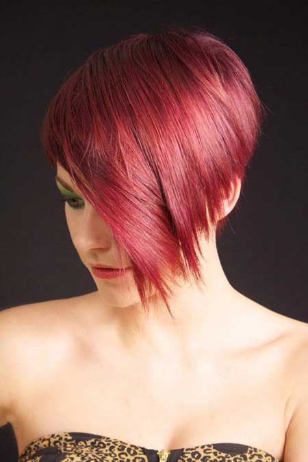 Short Haircut and Color Ideas-1