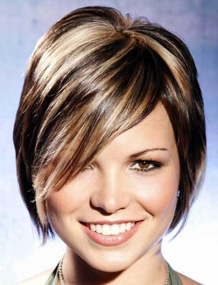 Short Haircut and Color Ideas-5