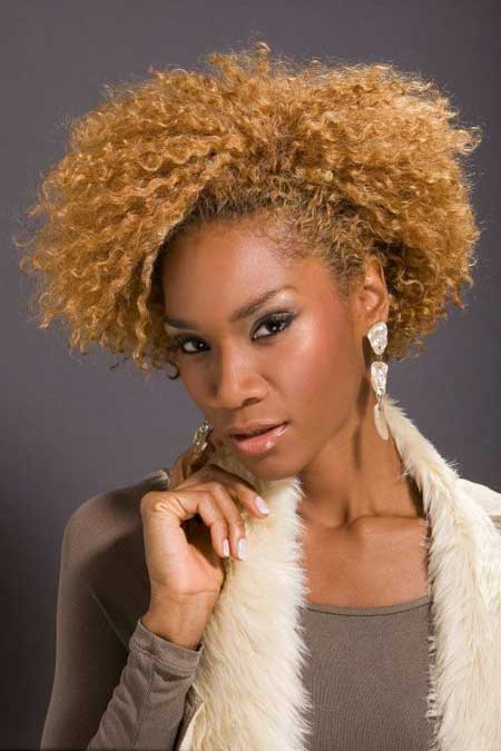 Short Hairstyles for Black Women 2013-9