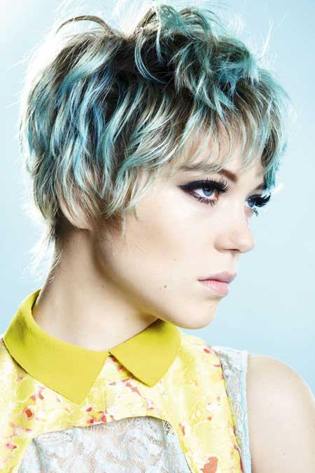 Short Haircut And Color Ideas