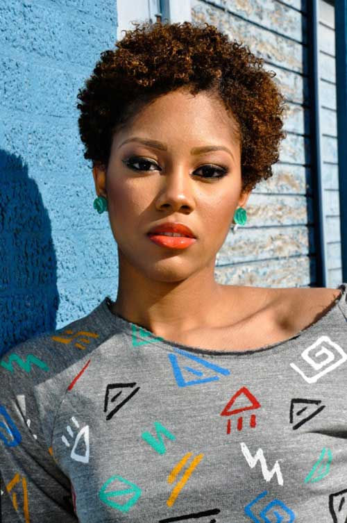 Short hairstyles for black women pictures