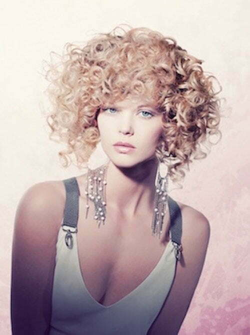 Swell Curly Short Haircuts For 2013 Short Hairstyles 2016 2017 Hairstyles For Women Draintrainus
