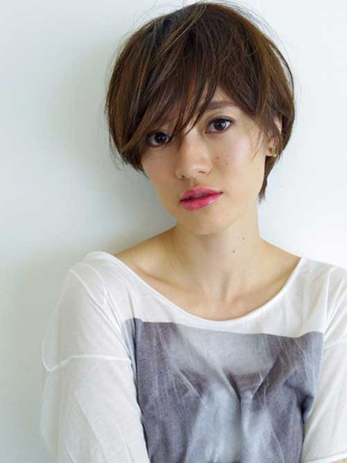 Short Messy Hairstyles For Asian Women