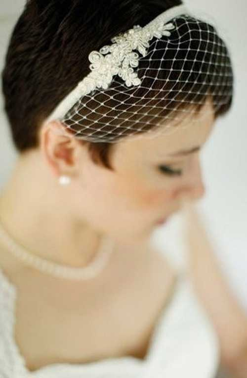 10 Super Short Bridal Hairstyles | Short Hairstyles 2014 | Most ...