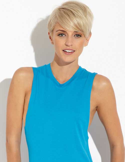 Top 20 Short Blonde Haircuts-11