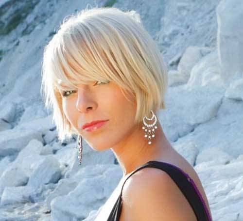Top 20 Short Blonde Haircuts-6