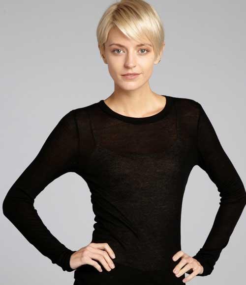 Top 20 Short Blonde Haircuts-7