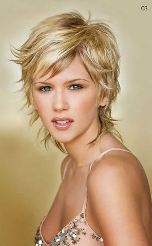 Top 20 Short Blonde Haircuts-8