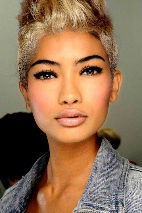 Superb Trendy New Short Hairstyles Short Hairstyles 2016 2017 Most Hairstyles For Women Draintrainus