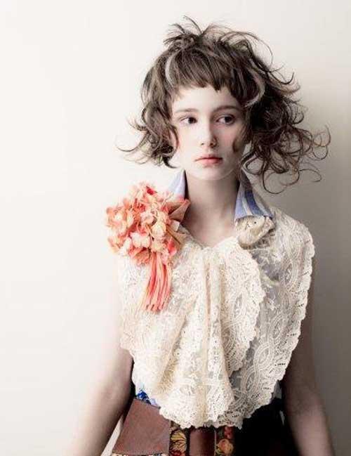 Cool Asymmetrical Cuts For Curly Hair Hairstyles For Women Draintrainus