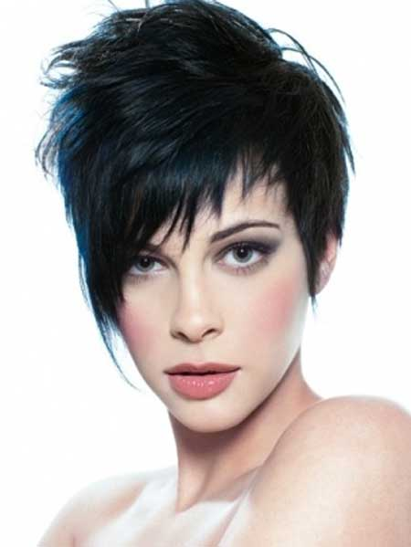 2013 Short Cuts For Thick Hair