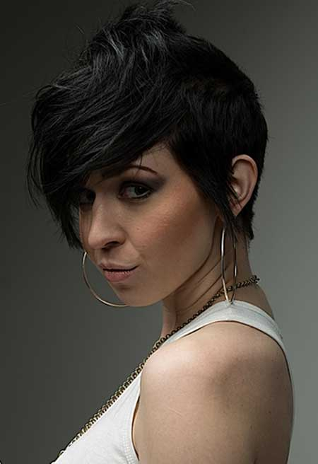 2013 Short Cuts for Thick Hair-5