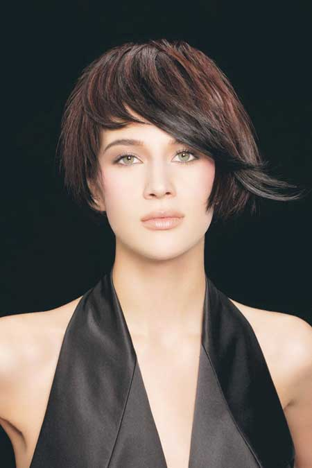 2013 Short Cuts for Thick Hair-9