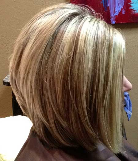 2013 layered bob haircut