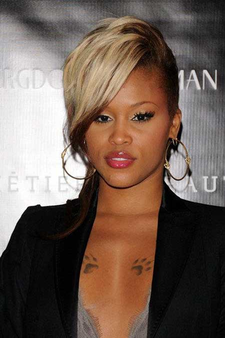 Beautiful Short Haircuts for Black Women-1