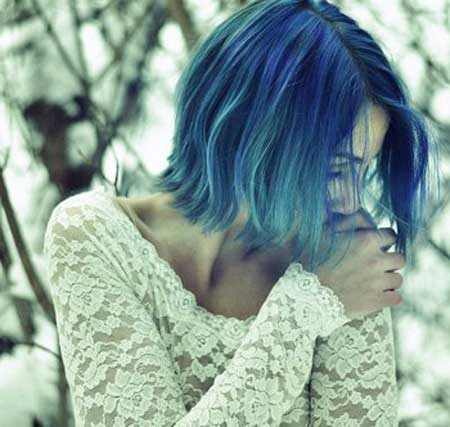 Best Hair Color Ideas for Short Hair-1