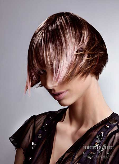 Best Hair Color Ideas for Short Hair-12