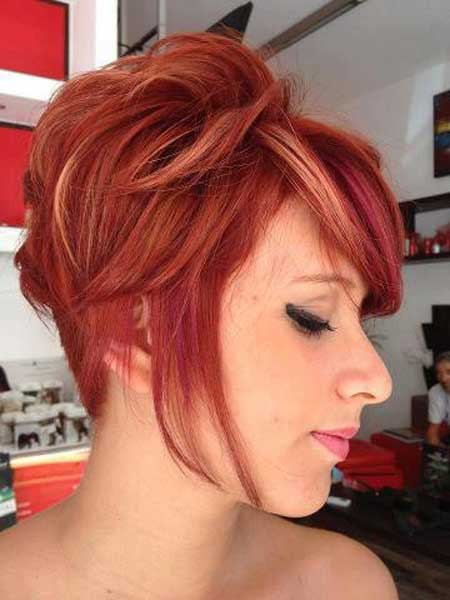 Best Hair Color Ideas for Short Hair-2