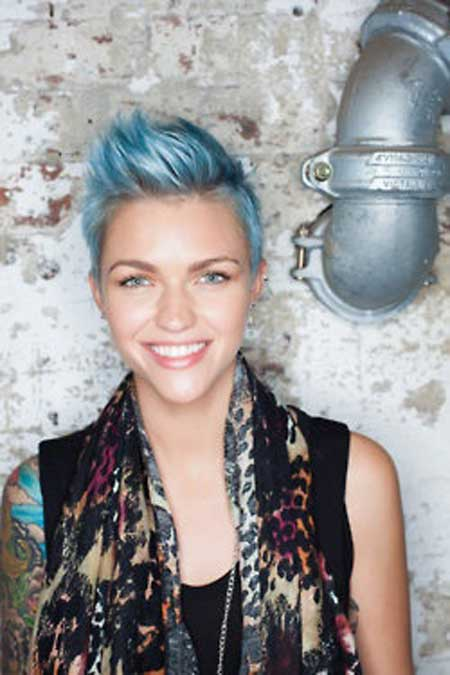 Best Hair Color Ideas for Short Hair-3