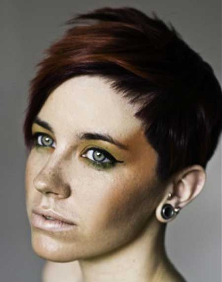 Best Hair Color Ideas for Short Hair-4