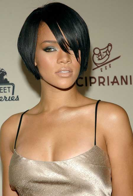 Celebrity short hairstyle for black women