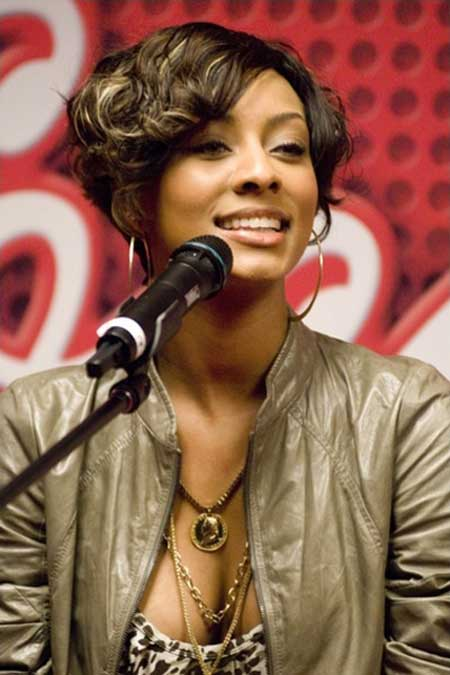 Black women short haircuts with bangs