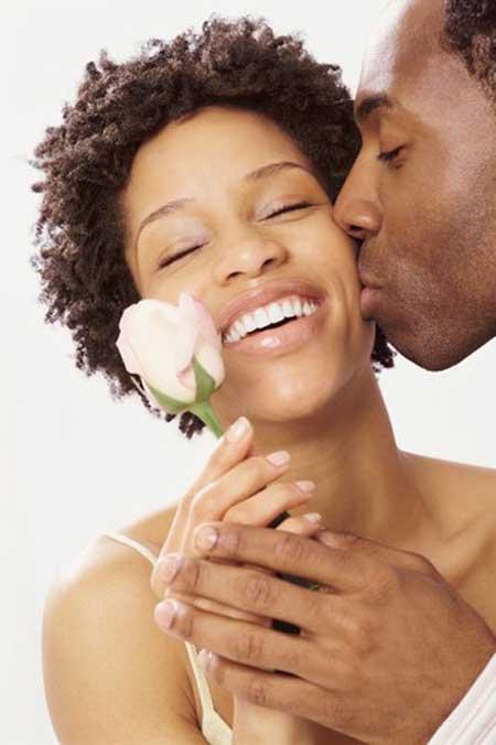 Short bridal hairstyles for black women