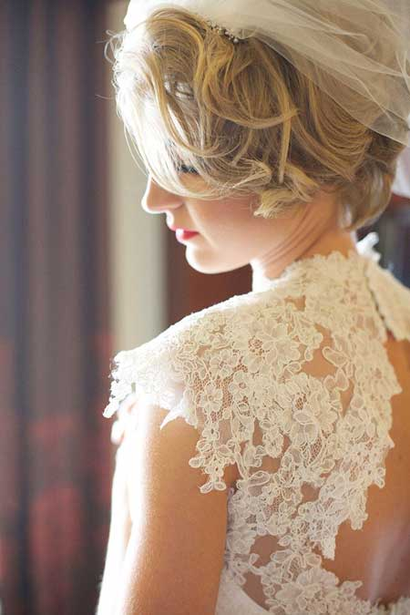 Bridal Short Hair Styles 2013-1