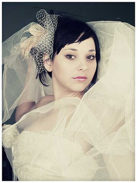Bridal Short Hair Styles 2013-3